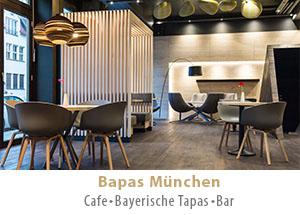 Bapas München - Cafe, Bayerische Tapas, Bar, Frühstück