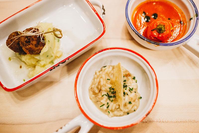 Bayerische Tapas, viel Auswahl, lecker, Mittagessen und Abendessen, München, Schwabing