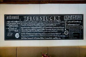 Frühstück, Cafe Mauerer, Schillerstraße, Karlsfeld, München