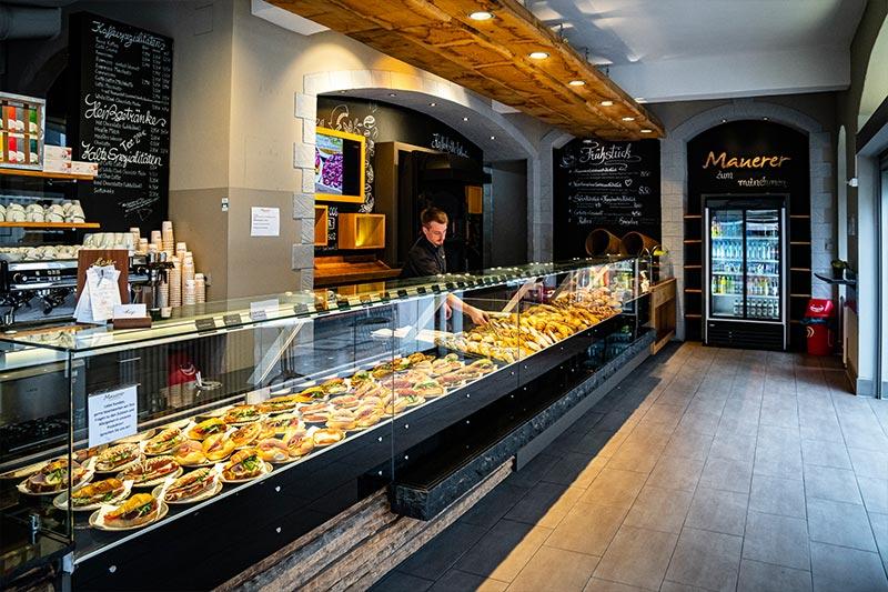 Frühstück, Snacks, Bio, frische Auswahl, Kaffee und Tee, Cafe Mauerer, Karlsfeld