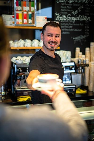 Freundliches Personal, Cafe Mauerer, Karlsfeld, Schillerstraße