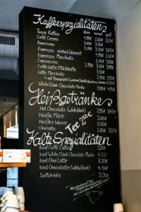 Kaffee und Kuchen, Cafe Mauerer, Schillerstraße Hauptbahnhof